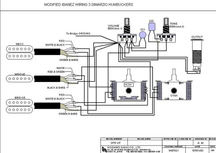 b guitar wiring schematics