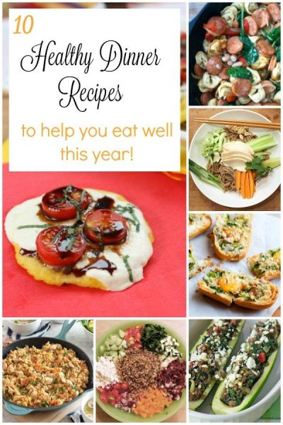 10 Healthy Dinner Recipes to Help You Start the New Year Well - See the collection on basilmomma ...