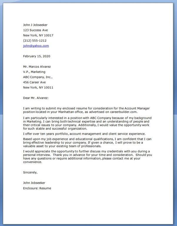 Cover Letter Samples Veterinary | Resume Builder Free for Job