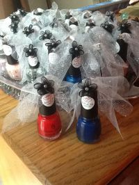 Bridal shower nail polish favors! | Birthday party ideas ...