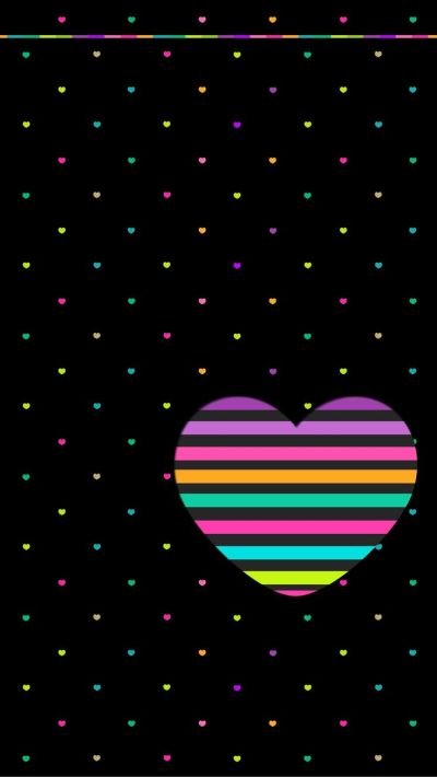 17 Best images about Colorful Heart{s} on Pinterest   Heart background, Screensaver and Icon pack
