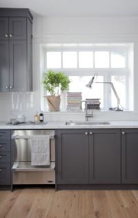 Best 25+ Grey cabinets ideas on Pinterest | Cabinet colors ...