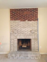 1000+ ideas about Whitewash Brick Fireplaces on Pinterest ...