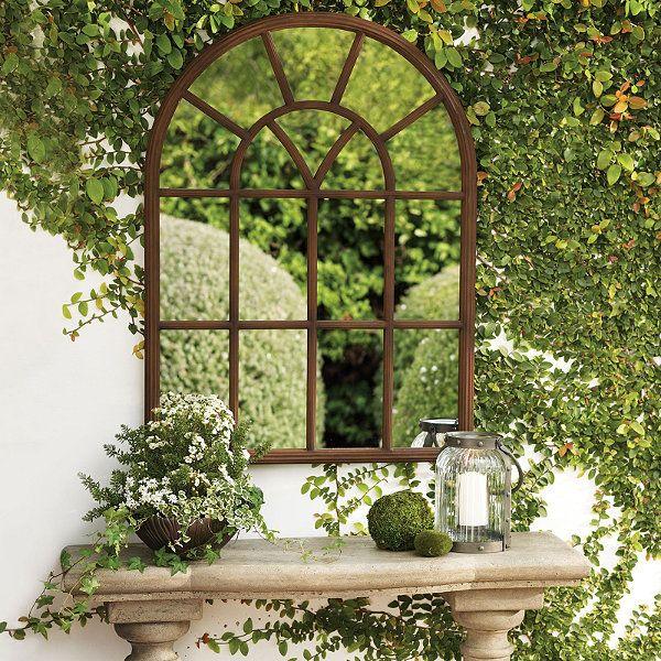 25+ great ideas about Outdoor mirror on Pinterest
