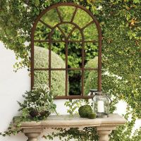 25+ great ideas about Outdoor mirror on Pinterest