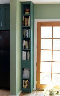 17 Best ideas about Skinny Bookshelf on Pinterest   Craft ...