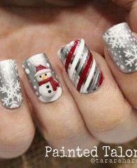 Best 20+ Christmas nail designs ideas on Pinterest