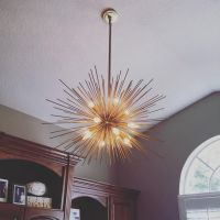 Pottery Barn Explosion chandelier #officedecor # ...