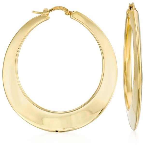 1000+ ideas about Gold Hoop Earrings on Pinterest