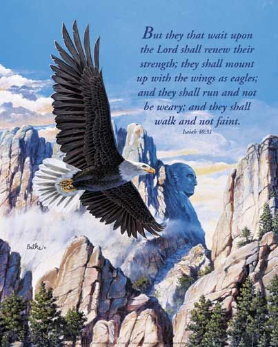Godly Wallpaper Quotes They Will Soar On Wings Like Eagles Isaiah 40 31