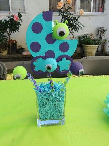 Little Monster Baby Shower Theme