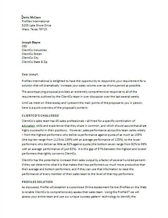 17 Best Ideas About Proposal Letter On Pinterest | Sample Of