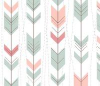 Tribal Arrows Aztec Ikat Pastels by doucettedesigns ...