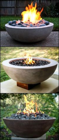 25+ Best Ideas about Concrete Fire Pits on Pinterest ...