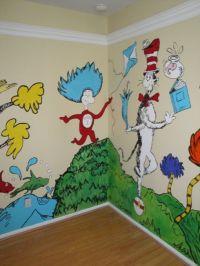 Dr Seuss wall decor | Pediatric Office Design Ideas ...