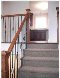 Split level home, Dartmouth, NS. Kitchen. Upper staircase ...