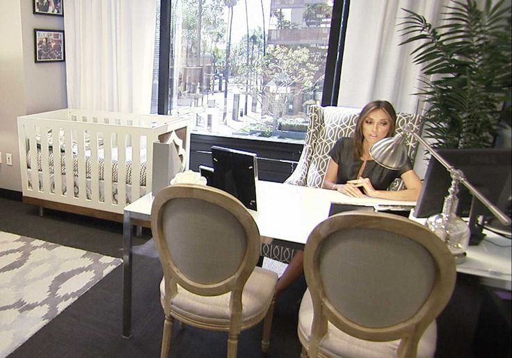 Home Office Mit Baby Giuliana Rancic's Office | Home Decor Inspiration