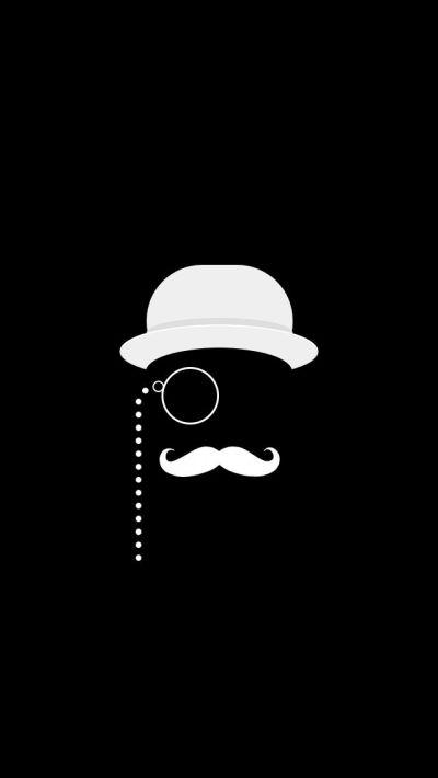 Like A Sir Black iPhone 5 Wallpaper #iPhone #wallpaper ----- Poirot??? :) | Cellphone Wallpaper ...