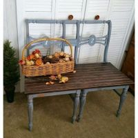 17 Best ideas about Chair Bench on Pinterest | Diy bench ...