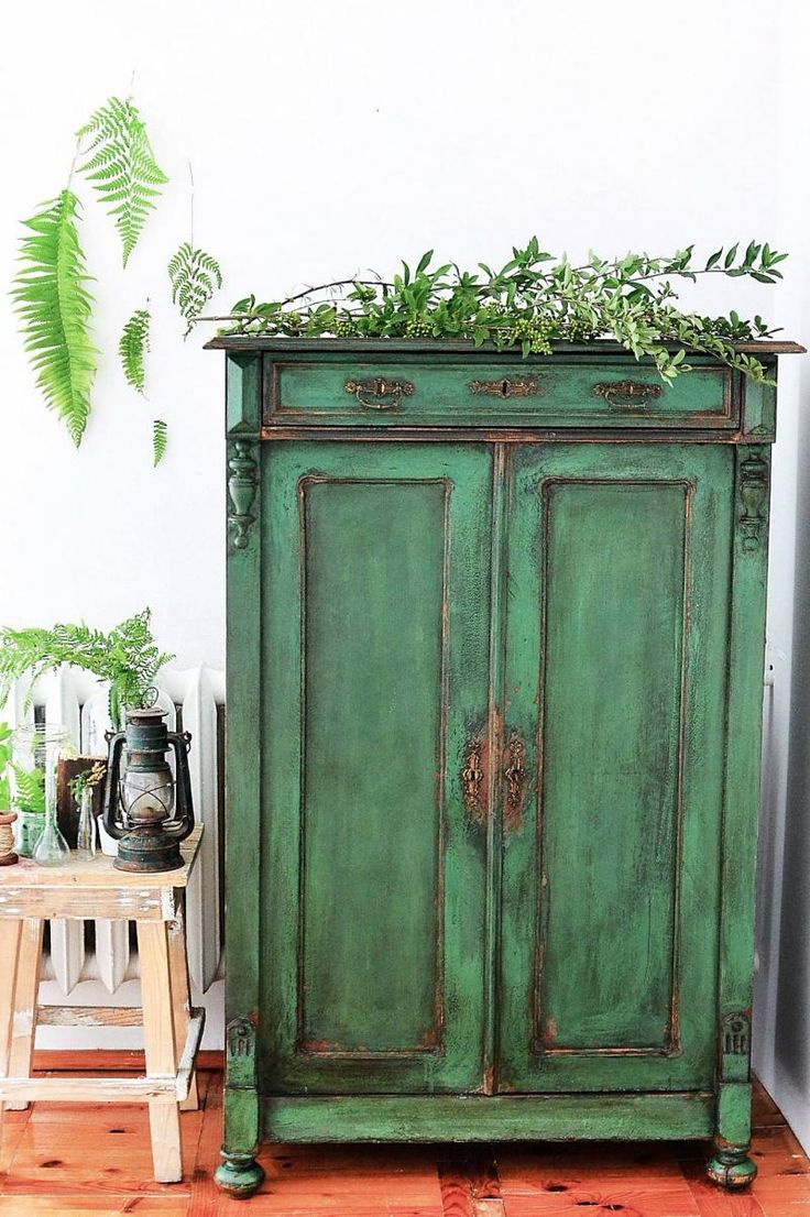 Vintage Reclaimed Sideboard 25+ Best Ideas About Green Distressed Furniture On