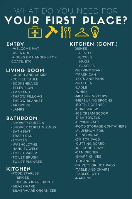 1000+ Ideas About First Home Checklist On Pinterest | New Home