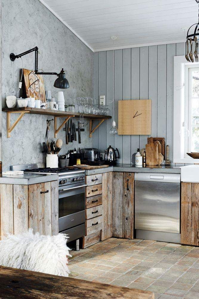 How To Build A Kitchen Island Using Wall Cabinets 1000+ Ideas About Small Rustic Kitchens On Pinterest