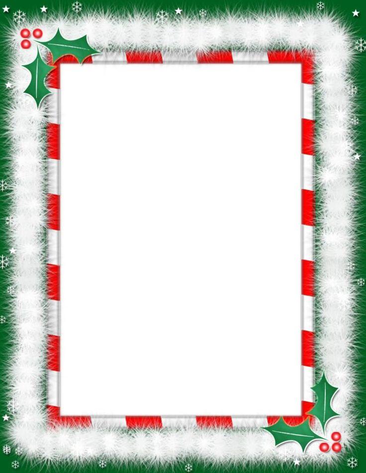 free christmas border templates microsoft word