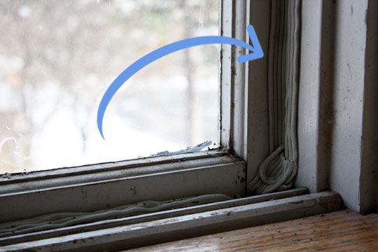 how to repair old windows rope and pulley