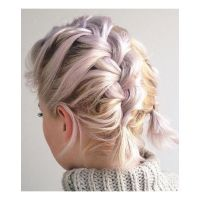 Best 20+ Braiding short hair ideas on Pinterest