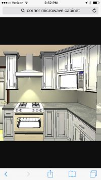 1000+ ideas about Microwave Cabinet on Pinterest | Under ...