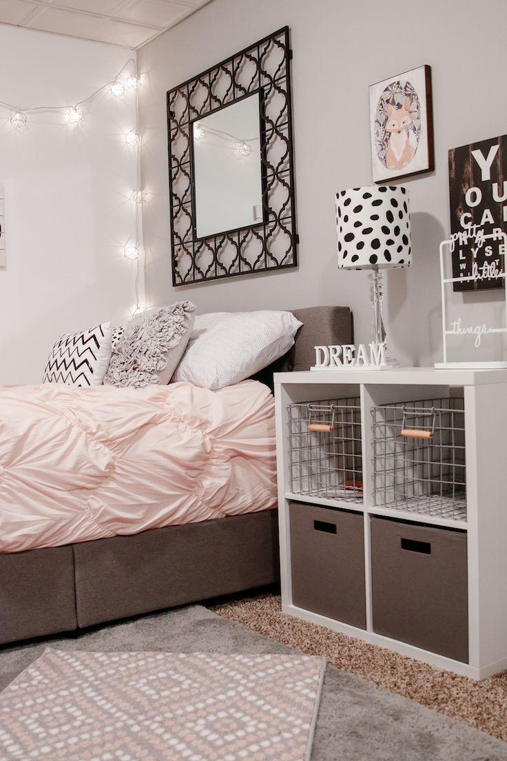 Simple and inspiring girl bedroom designsgirls