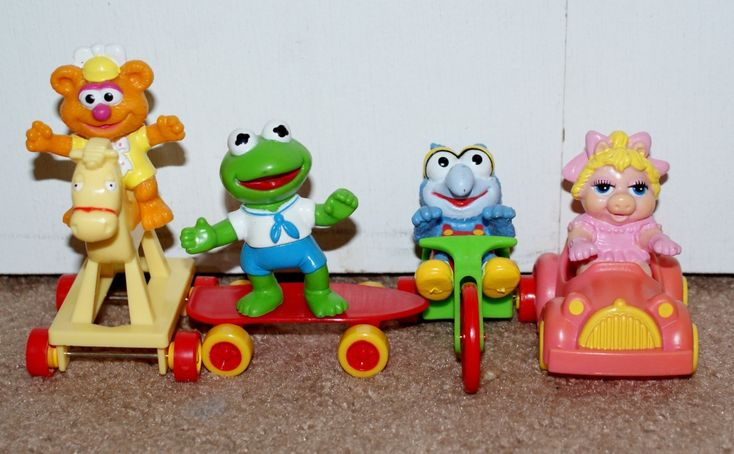 Muppet Babies Mcdonalds Toys Value Vintage 80s Lot Of 4 Mcdonald 39;s Muppet Babies Happy Meal