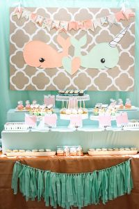 25+ best ideas about Peach Baby Shower on Pinterest | Baby ...