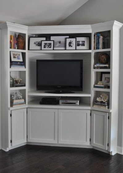 How To Build A Corner Entertainment Center Woodworking