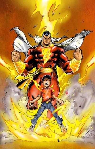 SHAZAM! - Billy Batson aka. Captain Marvel | DC UNIVERSE | Pinterest | Marvel and Captain marvel