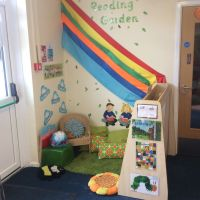 Reading garden EYFS | Work related activities | Pinterest ...