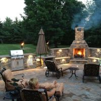 62 best images about outdoor fireplace/patio on Pinterest ...