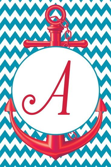 garden flags monogram initials