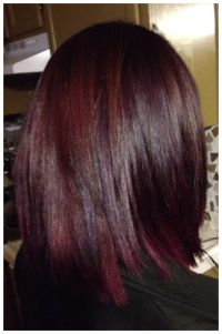 Pravana hair color magenta and purple shadowing | Hair by ...