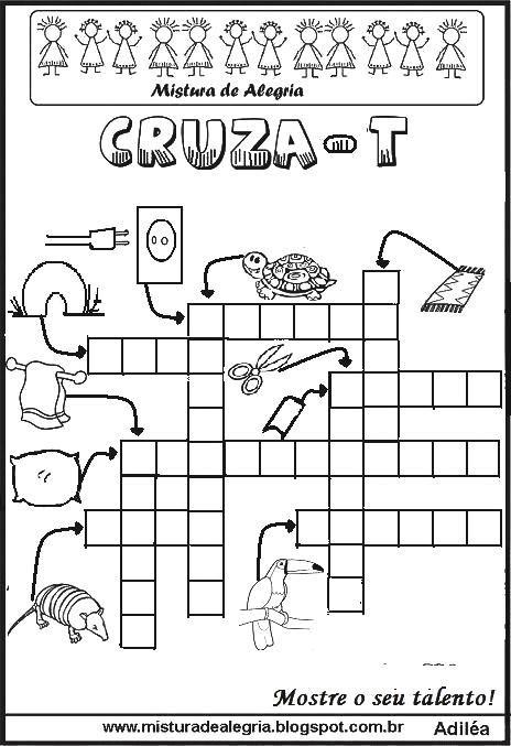 25 melhores ideias de atividades letra c no pinterest auto25 melhores ideias sobre palavras cruzadas para imprimir
