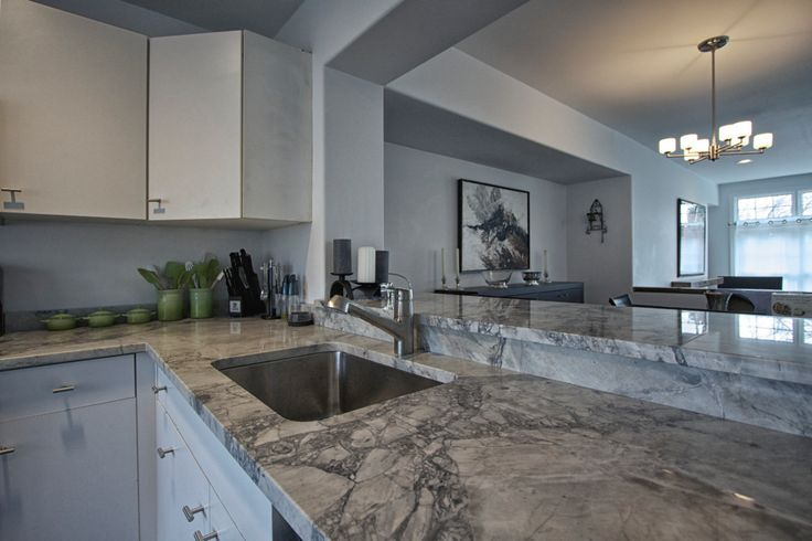 Country Gray Kitchen Cabinets White Vermont Quartzite | Super White Quartzite Kitchen