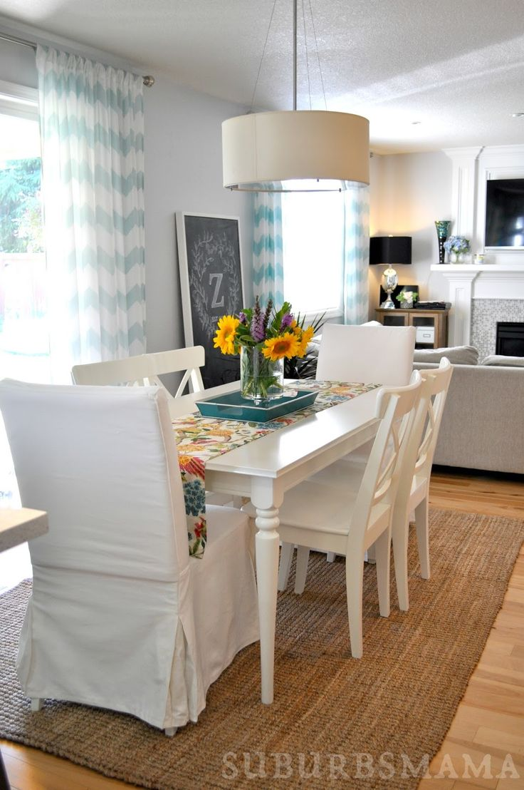 white dining rooms white kitchen tables White Dining Room Ikea dining table and chairs