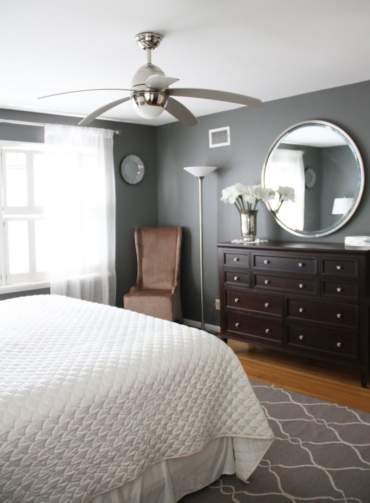 Running From The Law Master Bedroom Makeover Before