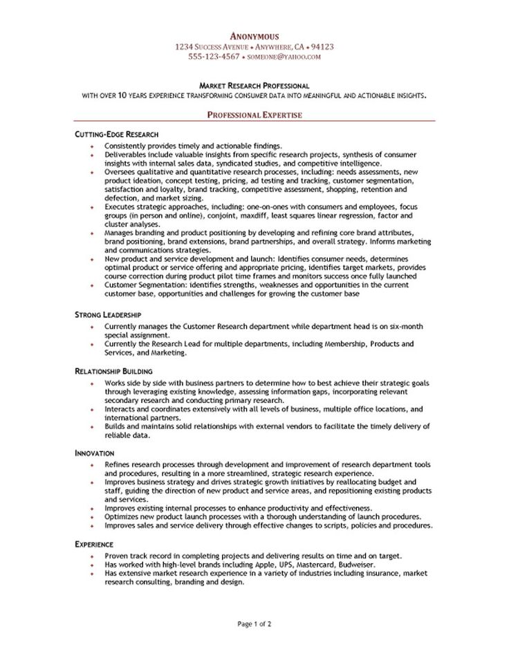 resume ideas for automation tester