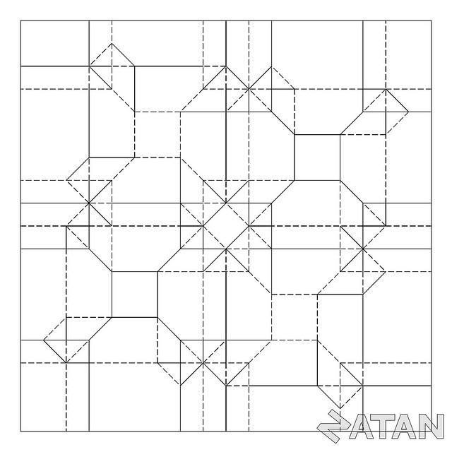 origami modular diagrams embroidery origami