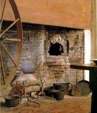 Kitchen of the Coffin House in Newbury,Massachusetts Great ...