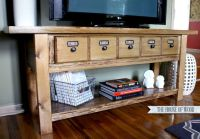 Barn Wood Tv Stand Plans - WoodWorking Projects & Plans