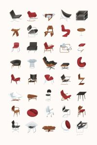 Chair icons | Icons + Pictos | Pinterest | Colors, Chairs ...