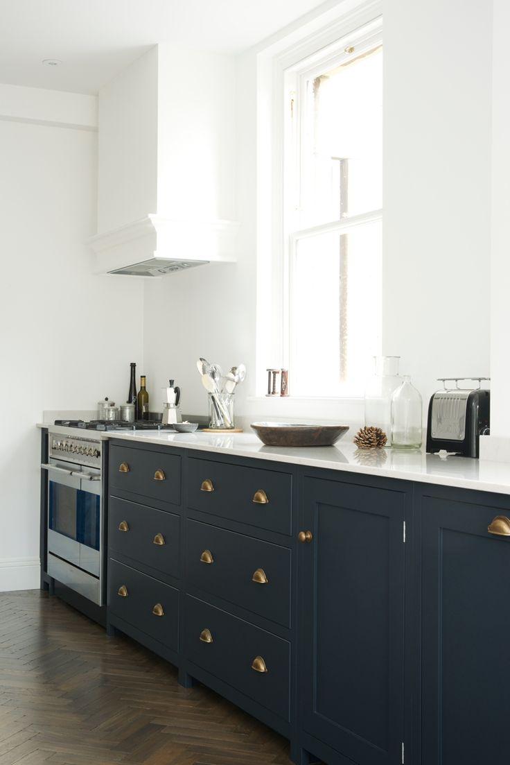 shaker kitchen blue kitchen cabinets deVOL Shaker Kitchen Bath deVOL blog