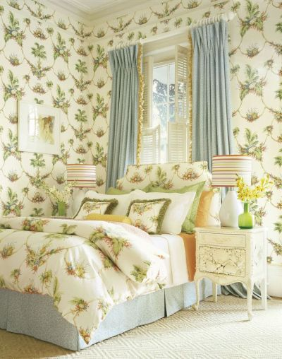 Sand Key wallpaper and fabric from #Laguna #Thibaut ...